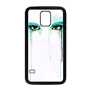 TOSOUL Customized Print Watercolor Hard Skin Case For Samsung Galaxy S5 I9600