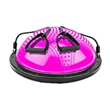Sports Fitness Yoga Wave Speed Ball Semi-Circle Balance Fitness Ball Home Massage Ball Foot Training Equipment Jumping Ball Yoga Practice Ball (Load: 300kg) Exercise Ball Chairs