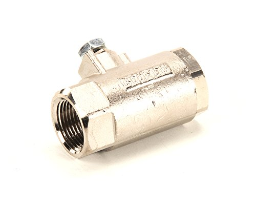 Giles/Chesterfried 45850 Ball Valve, Nickel Plated Finish