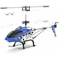 SunSunRise Blue S107N SYMA 3.5CH Channel RC Remote Radio Control Helicopter GYRO Heli Kid