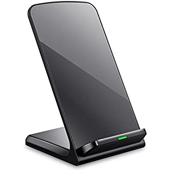 Turbot IPhone X Wireless Charger 3 Coil QI Charging Pad Stand For