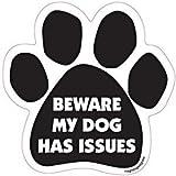 "6"" Dog/Animal Paw Print Magnet - Works on"