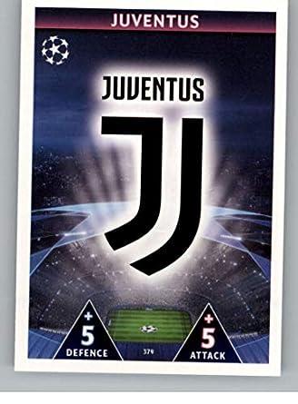 9c2ef1dc5 2018-19 Topps UEFA Champions League Match Attax  379 Club Badge Juventus  Official Futbol