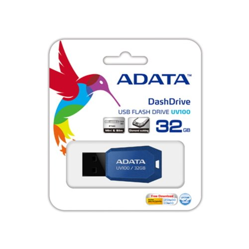 Pendrive AUV100, Adata, Pendrives, Azul, 32GB