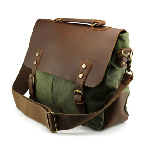 new-vintage-style-mens-canvas-shoulder-casual-school-military-messenger-travel-bag