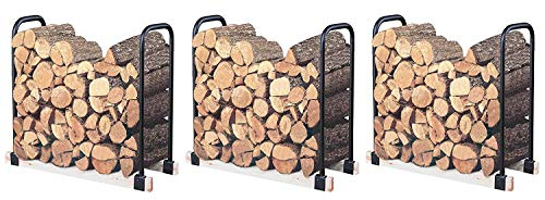 Landmann USA 82424 Adjustable Firewood Rack, Upto 16-Feet Wide (Pack of 3)