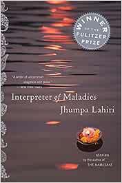 Interpreter of Maladies: Amazon.ca: Lahiri, Jhumpa: Books