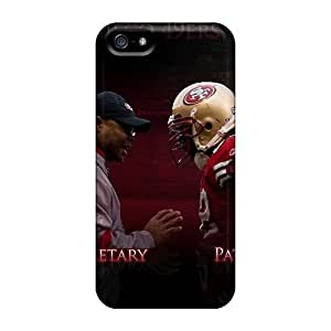 Durable Defender Case For Iphone 5/5s Tpu Cover(san Francisco 49ers)