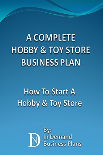 Toy store business plan