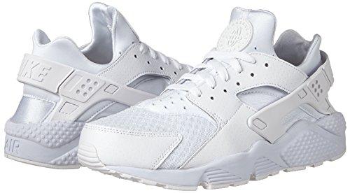 Air white Uomo white Bianco pure 111 Scarpe Nike Huarache Ginnastica Da Platinum 8qTSXd