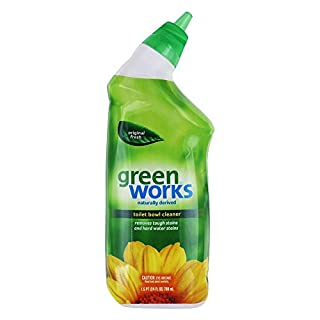 Green Works 00451 Toilet Bowl Cleaner Manual, 24 fl oz Bottle