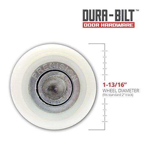Dura Bilt Ultra Quiet 2 Quot Nylon Garage Door Roller With