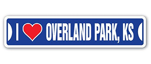 i-love-overland-park-kansas-street-sign-ks-city-state-us-wall-road-gift-2pcs