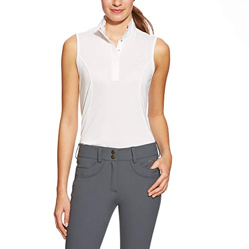 ARIAT Women's Aptos Show Shirt White Size Large