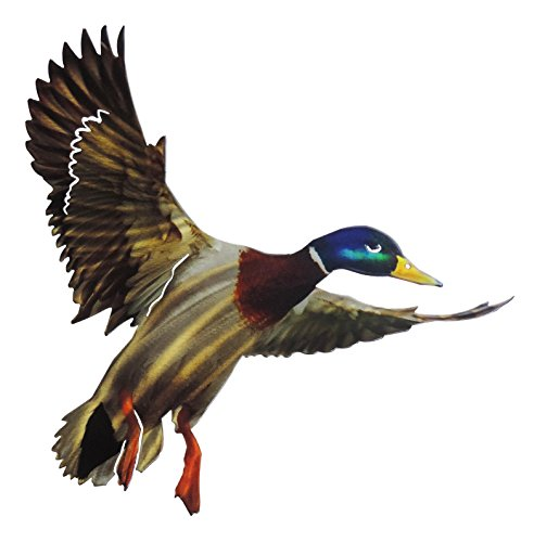 Next Innovations 16.75″ X 15.5″ Metal Wall Art 3D Mallard Home Decor, Blue