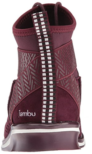 Women's Wine Jambu Ankle Offbeat Bootie HaxqgB