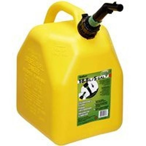 Case of 4 Blitz 5 Gallon Plastic Diesel Fuel Can Jug by Scepter