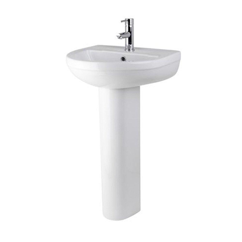 Harmony 1th Basin & Pedestal by John Louis Bathrooms JL Bathrooms