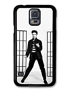 AMAF ? Accessories Elvis Presley Jailhouse Rock King of Rock & Roll case for Samsung Galaxy S5