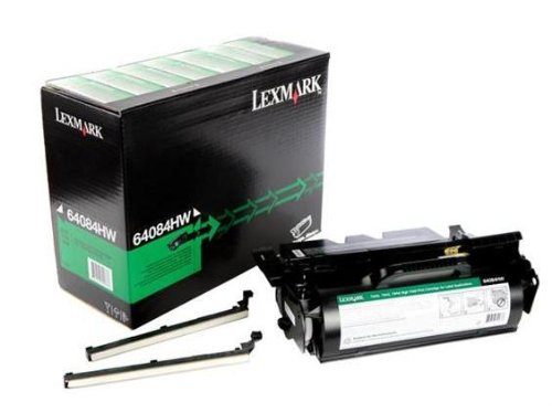 LEXMARK 64084HW - Lexmark High Yield Black Toner Cartridge - Black - Laser