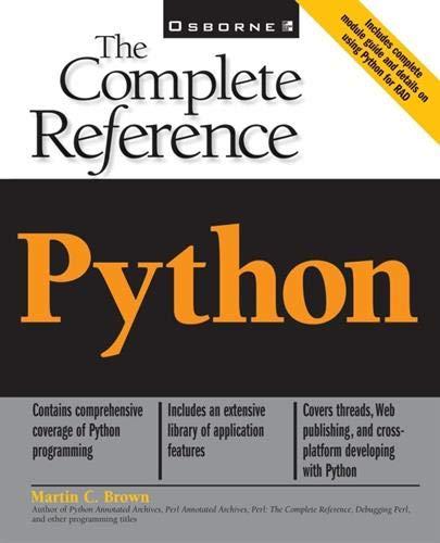 [B.O.O.K] Python: The Complete Reference D.O.C