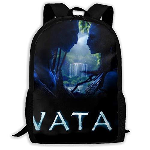 Ava-Tar Backpack College School Laptop Bag Daypack Travel Shoulder Bag For Unisex