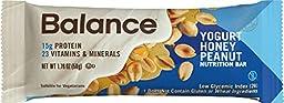Balance Bar Yogurt Honey Peanut, 6 count Value Pack