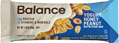 Balance Bar® Yogurt Honey Peanut, 6 count Value (Honey Nutrition Bar)