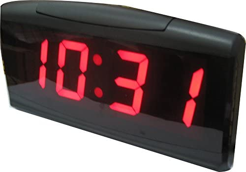 AZOOU Desk LED Alarm Clock Display Date Temperature and Time with Button Control