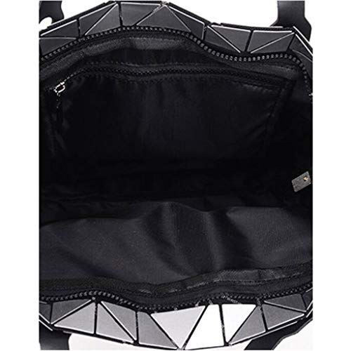 Semplice Pieghevole One Bianca Femminile Nero Daypack A colore Size Moda Tracolla Dimensioni Borsa 4InqwXTpx