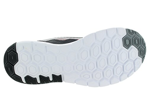 Nike Flex Experience RN 4 Laufschuh Wolf Grau, Dunkelgrau, Weiß, Schwarz