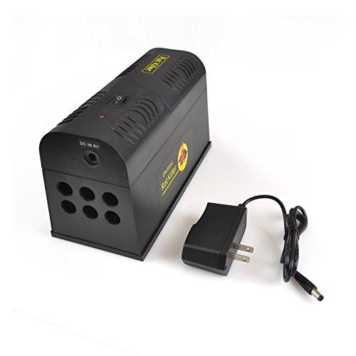 Electronic Mouse Killer & Rat Zapper Exterminator Trap by...
