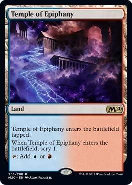 * Core Set 2020 Magic Temple of Epiphany foil The Gathering