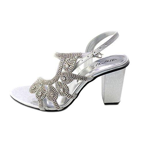 amp; femme Walk multicolore Wear silver multicolore pour Sandales UK 36 42 UfwHq