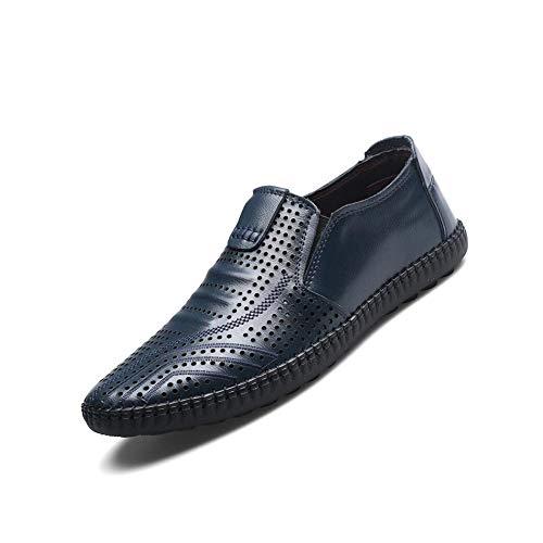 Blue En Loisirs De Chaussures Cuir Ff XgwqBZx
