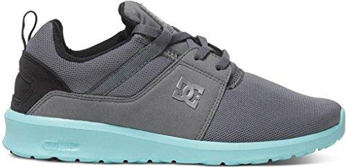 DC Shoes Heathrow J - Zapatillas de deporte Mujer Grey/Black