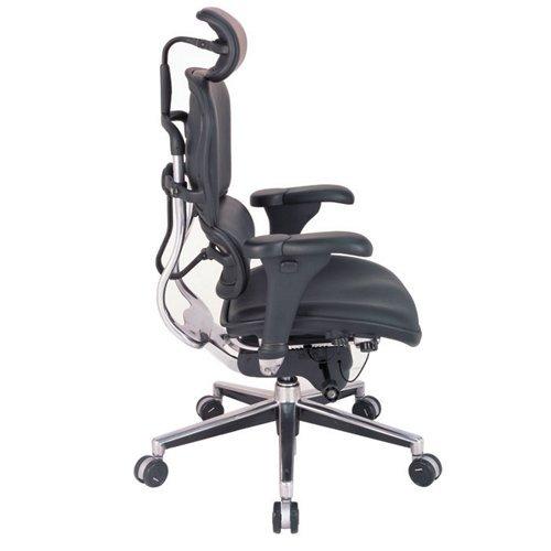 Eurotech seating ergohuman collection high back ergonomic for Siege de bureau professionnel
