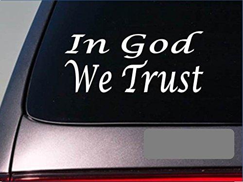 In-God-we-trust-E748-tea-party-SECOND-AMENDMENT-Decal-Vinyl-STICKER-christian