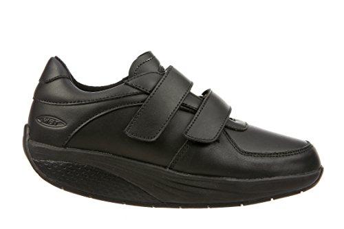 MBT Unisex-Erwachsene Karibu 17 Velcro Strap Arbeitssneaker, Schwarz Black (Schwarz)