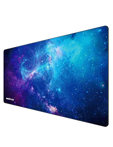 Gaming Mouse Pad, Large Mouse Pad XL, Mouse Pads for Computers 31.5×15.75In, Large Extended Gaming Keyboard Mouse Pads, Big Desk Mouse Mat Designed for Gaming Surface/Office, Durable Stitched Edges