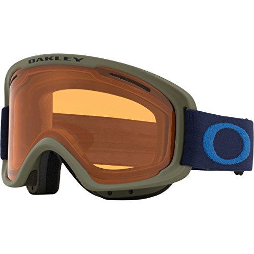 Oakley O-Frame 2.0 XM Snow Goggles, Canteen Fathom Frame, Persimmon Lens, - Oakley Goggles Sports