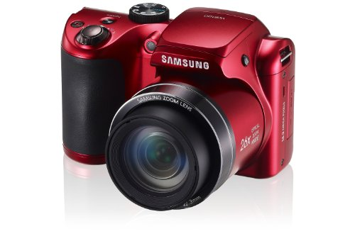 Amazon.com : Samsung Wb100 Digital Camera (Black) : Point And ...