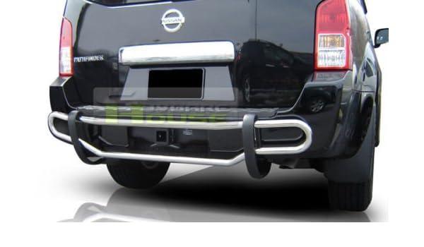 Wynntech Rear Bumper Guard Double Pipe Fits:2013-2016 Nissan Pathfinder