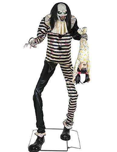 Super Scary Clown (Seasonal Visions Animated Sweet Dreams Clown)