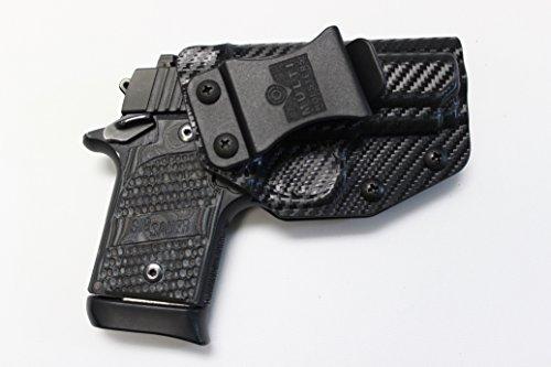 Multi Holsters Elite Sig Sauer P938 IWB FOMI Right-Hand Holster (Black Carbon Fiber)