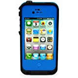 Generic Waterproof Shockproof Dirt Proof Snow Proof Protection Case Cover for Apple iPhone 4/4s - Non-Retail Packaging - Blue
