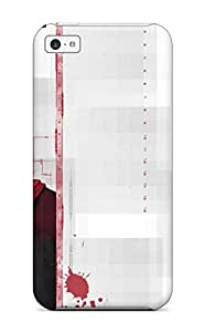 Fashionable Style Case Cover Skin For Iphone 5c- Bleach