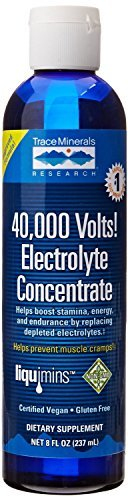 Trace Minerals 40,000 Volts, 8-Ounce (Pack of ()