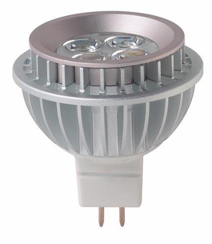 ETI 530192 7 -Watt MR16 340lms 3000k 80CRI Dimmable 25-Degree 15,000hrs GU5.3 Base LED Lamp