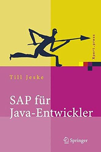 SAP für Java-Entwickler: Konzepte, Schnittstellen, Technologien (Xpert.press) Gebundenes Buch – 4. August 2005 Till Jeske Springer 3540237879 Programmiersprachen